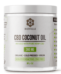 CBD coconut oil biovelle
